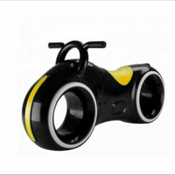 Беговел Star One Scooter - DB002 черно- желтый (устойчивые колеса, подсветка, музыка)